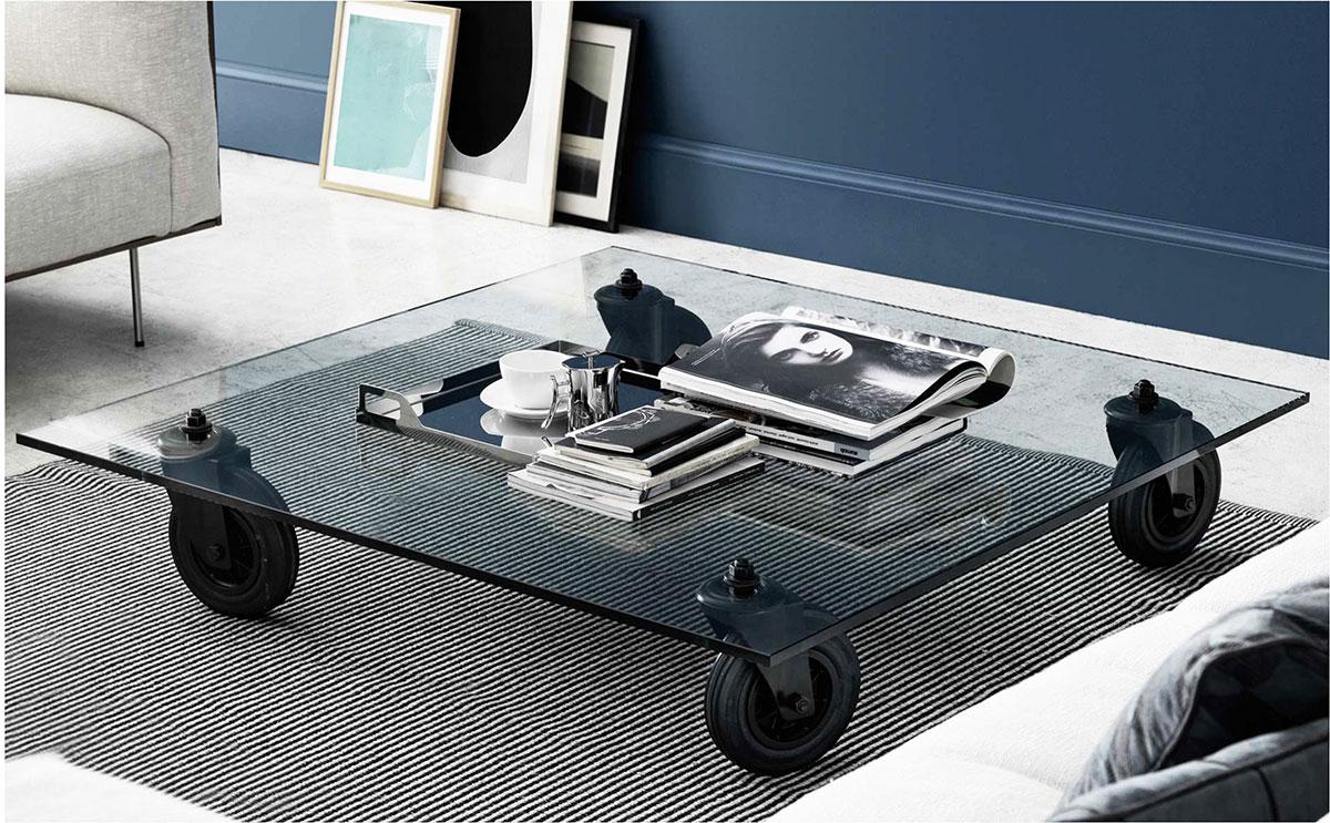 Fontana arte tavolo con ruote arkitektura assembly - Tavolo con ruote ...
